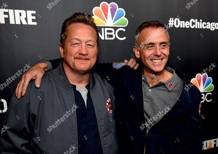Stock Picture of Christian Stolte and David Eigenberg