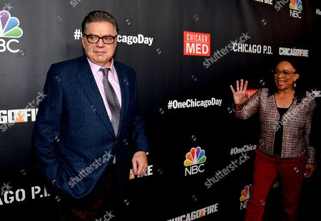 Stock Picture of Oliver Platt and S. Epatha Merkerson