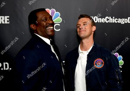 Stock Photo of Eamonn Walker and Jesse Spencer