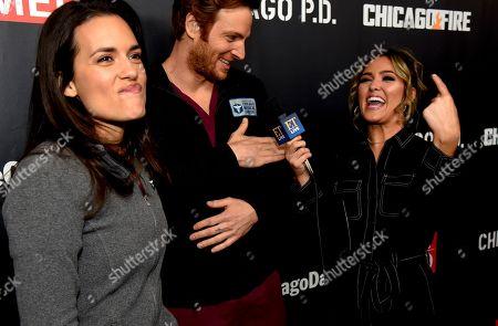 Stock Photo of Torrey DeVitto, Nick Gehlfuss and Cassie DiLaura
