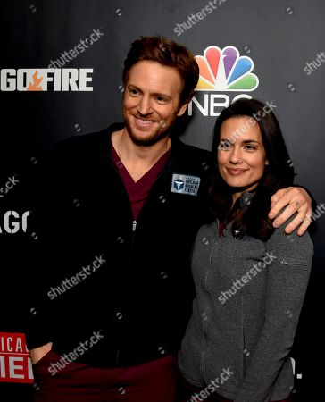 Stock Picture of Nick Gehlfuss and Torrey DeVitto