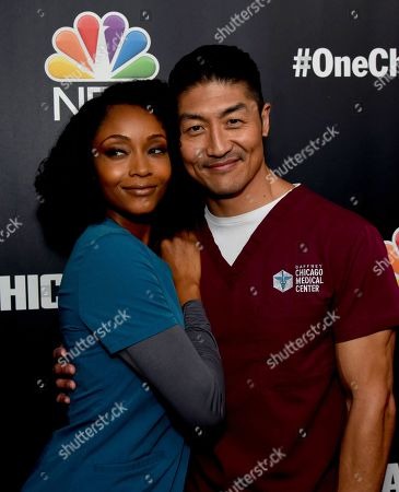 Stock Picture of Yaya DaCosta, Brian Tee