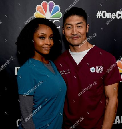 Stock Photo of Yaya DaCosta, Brian Tee
