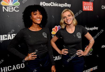 Stock Picture of Annie Ilonzeh, and Kara Killmer