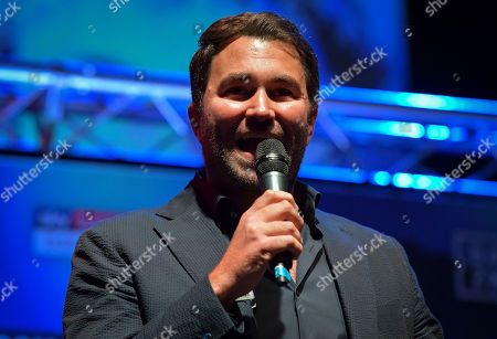 Stock Photo of Boxing promoter Eddie Hearn