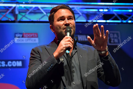 Boxing promoter Eddie Hearn