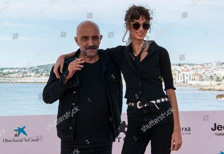 Gaspar Noe and Charlotte Gainsbourg