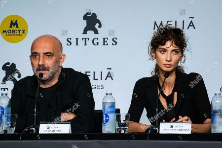 Stock Photo of Gaspar Noe and Charlotte Gainsbourg