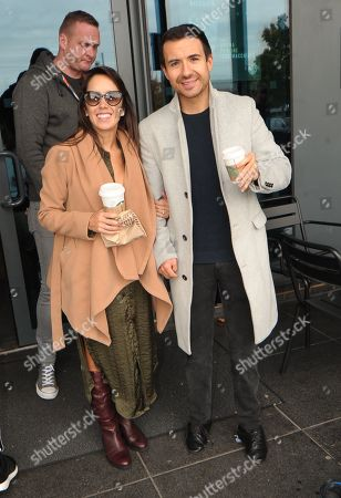 Editorial image of 'Strictly Come Dancing: It Takes Two' celebrities leave hotel, London, UK - 05 Oct 2019
