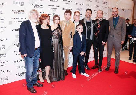 Tom Courtenay, Rebecca Front, Felicity Jones, Eddie Redmayne, Tom Harper, Lloyd Lewin and Todd Lieberman