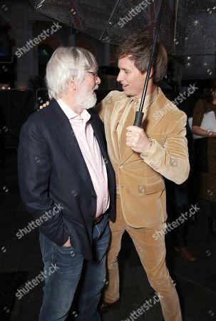 Tom Courtenay and Eddie Redmayne