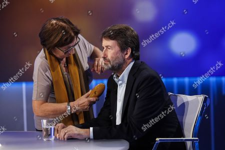 Editorial photo of Italian Minister of Cultural Heritage and Activities, Dario Franceschini at TV program, Rome, Italy - 07 Oct 2019