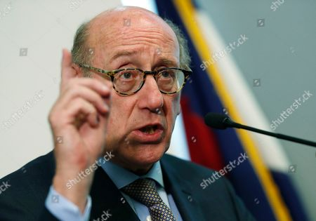 Kenneth Feinberg, r m. Kenneth Feinberg, who is leading a program to compensate people who were abused by Catholic priests in Colorado, speaks during a news conference to announce that the program is now open for the submission of claims, in Denver. Administrators said that they were sending out packets to 65 people who previously reported abuse to the church to ask if they would like to submit a claim against the three archdioceses--Denver, Colorado Springs and Pueblo