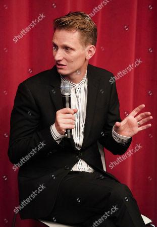 Tom Harper attends the AMPAS BAFTA Screening