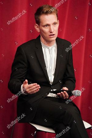 Tom Harper attends the AMPAS BAFTA Screening 'The Aeronauts' London Film Festival