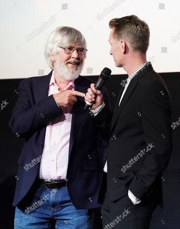 Tom Courtenay and Tom Harper