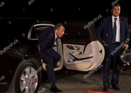 Editorial photo of Russian FM Lavrov in Erbil, Iraq - 07 Oct 2019