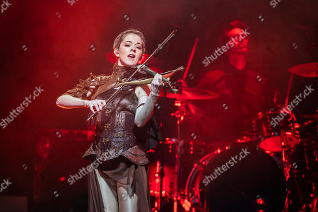 Editorial picture of Lindsey Stirling performs in Budapest, Hungary - 07 Oct 2019