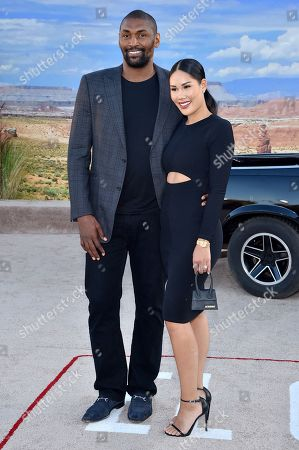 Ron Artest and Maya Ford