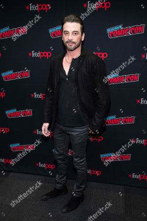 """Skeet Ulrich attends New York Comic Con to promote The CW's """"Riverdale"""" at the Jacob K. Javits Convention Center, in New York"""