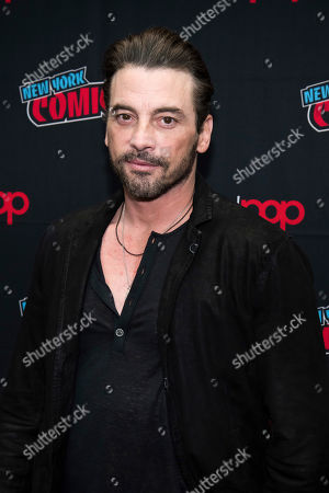 """Stock Picture of Skeet Ulrich attends New York Comic Con to promote The CW's """"Riverdale"""" at the Jacob K. Javits Convention Center, in New York"""