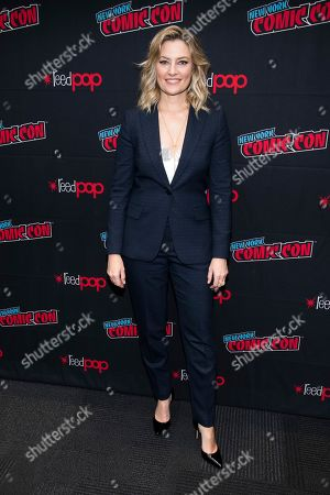 """Madchen Amick attends New York Comic Con to promote The CW's """"Riverdale"""" at the Jacob K. Javits Convention Center, in New York"""