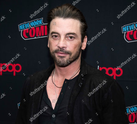 """Stock Photo of Skeet Ulrich attends New York Comic Con to promote The CW's """"Riverdale"""" at the Jacob K. Javits Convention Center, in New York"""