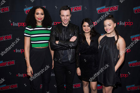 Editorial image of 2019 Comic Con - Day 4, New York, USA - 06 Oct 2019