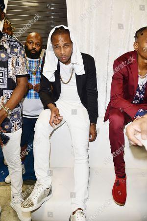Stock Photo of Reggae Singer Dexta Daps backstage