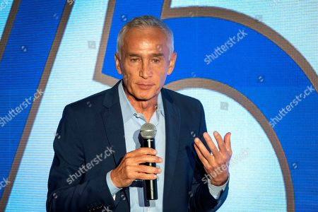 Stock Photo of Journalist Jorge Ramos speaks during the 75th General Assembly of the Inter American Press Association (IAPA), in Coral Gables, Florida, USA, 07 October 2019.