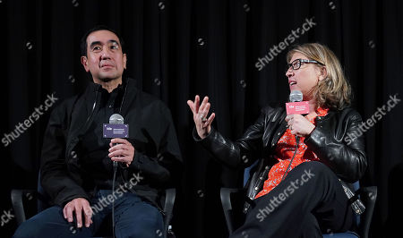 Andy Bautista and Director Lauren Greenfield