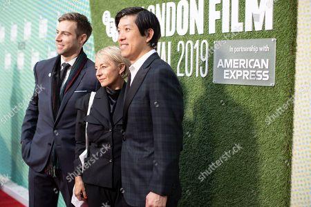 Jonathan Eirich, Tracey Seaward and Dan Lin