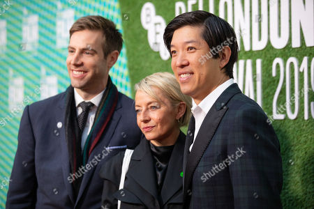 Stock Photo of Jonathan Eirich, Tracey Seaward and Dan Lin