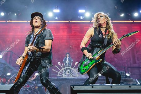 Ryan Roxie and Nita Strauss - Alice Cooper
