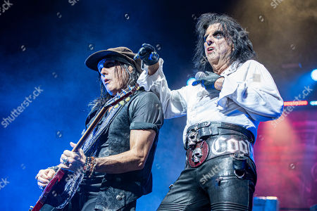 Ryan Roxie and Alice Cooper