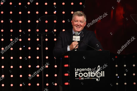 Stock Picture of Geoff Shreeves on stage