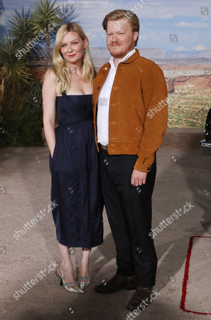 Stock Image of Kirsten Dunst and Jesse Plemons
