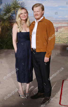 Stock Picture of Kirsten Dunst and Jesse Plemons