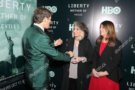 Jason Blum, Sheila Nevins, Nancy Abraham