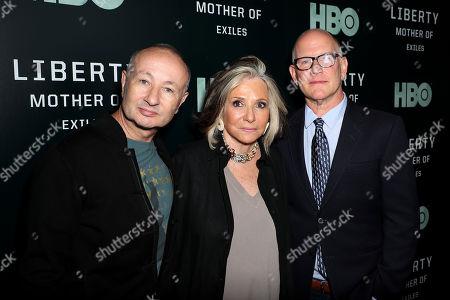 Stock Photo of Fenton Bailey (Director, Producer), Sheila Nevins (Exec. Producer), Randy Barbato (Director,Producer)