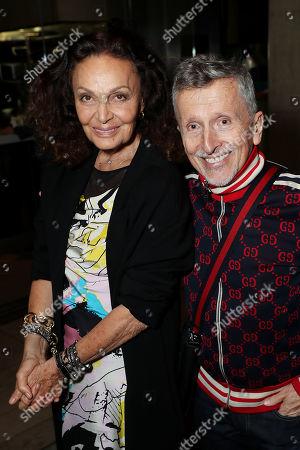 Diane von Furstenberg (Exec. Producer), Simon Doonan