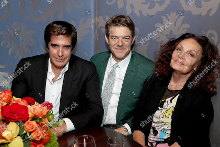 David Copperfield, Jason Blum (Exec. Producer), Diane von Furstenberg (Exec. Producer)