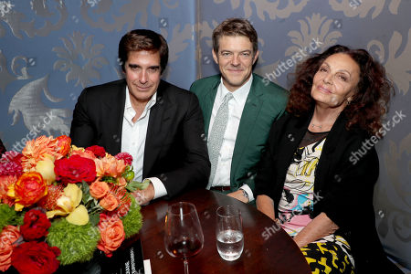 David Copperfield, Jason Blum (Exec. Producer), Diane von Furstenberg (Exec. Producer)