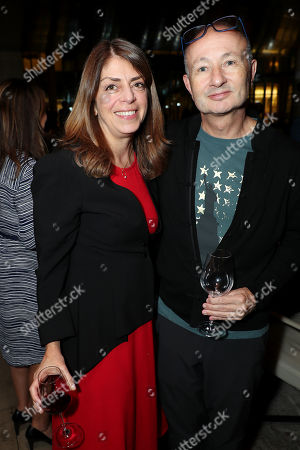 Stock Photo of Nancy Abraham (HBO Esxc Producer), Fenton Bailey (Director,Producer)
