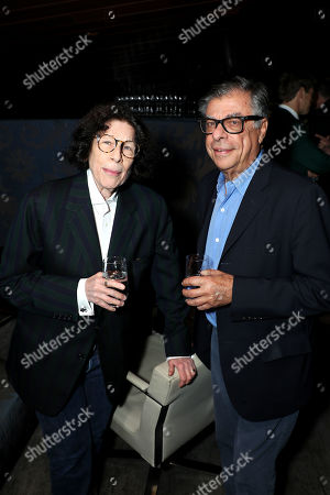 Stock Photo of Fran Lebowitz, Bob Colacello