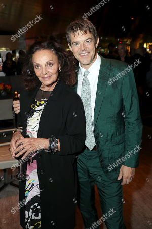 Stock Photo of Diane von Furstenberg (Exec. Producer), Jason Blum (Exec. Producer)