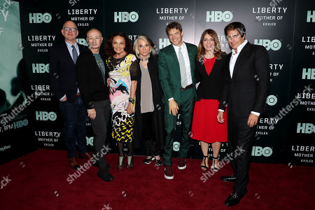 Randy Barbato, Fenton Bailey, Diane von Furstenberg, Sheila Nevins, Jason Blum, Nancy Abraham, David Copperfield