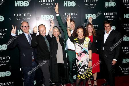 Randy Barbato, Fenton Bailey, Sheila Nevins, Jason Blum, Diane von Furstenberg, Nancy Abraham, David Copperfield