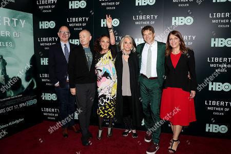 Randy Barbato, Fenton Bailey, Diane von Furstenberg, Sheila Nevins, Jason Blum, Nancy Abraham