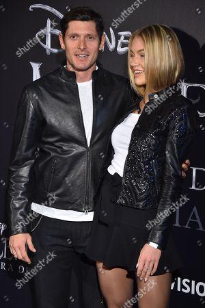 Stock Photo of Aldo Montano and Olga Plachina